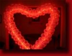 Сердце с подсветкой одинарное-1500р.,двойное-2500р.