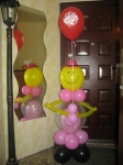 24. Девочка в розовом шар в шар.Воздух-800р.