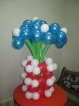31. Мини-букет в вазе 7 цветов воздух-700р.