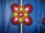 11.Цветок двойной 4 лепестка воздух-70р.