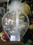 3. Купюры в шаре,шар в шар. Латекс, воздух - 500р.(купюры Ваши).