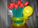 38.Букет тюльпанов(воздух)-1100р.