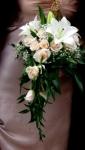 """11. Букет невесты """"Фиалка"""" - 3500р."""